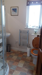Bathroom at Mags Cottage - self catering in Ballachulish