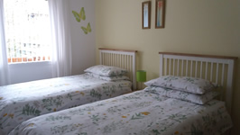 Twin room at Self catering Mags Cottage in Ballachulish near Glencoe Scotland