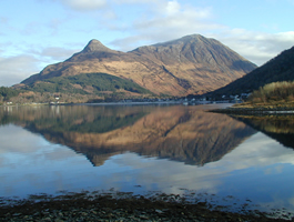 Self Catering cottage near Glencoe