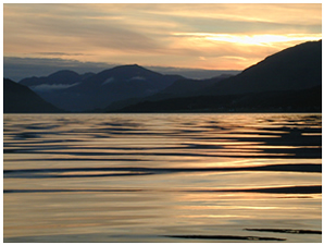 Golden Sunset - Self Catering Cottage near Glencoe